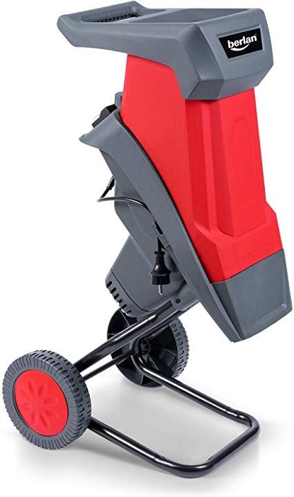 Berlan 2400 W Elektro Gartenhäcksler mit Rädern