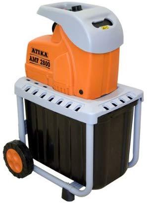 ATIKA 300632 Messer-Gartenhäcksler AMF2800