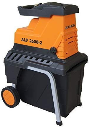 ATIKA ALF 2600-2 Leise-Walzenhäcksler Gartenhäcksler