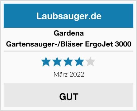 Gardena Gartensauger-/Bläser ErgoJet 3000 Test