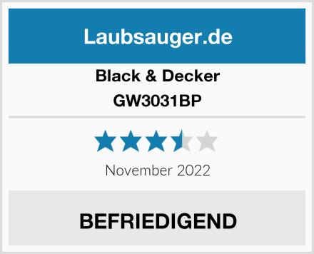 Black & Decker GW3031BP Test