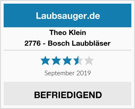 Theo Klein 2776 - Bosch Laubbläser Test