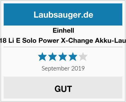 Einhell GE-CL 18 Li E Solo Power X-Change Akku-Laubbläser Test