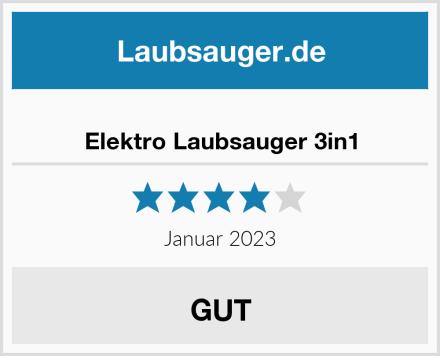 Monzana Elektro Laubsauger 3in1 Test