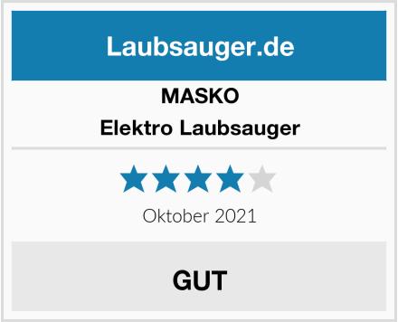 MASKO Elektro Laubsauger Test