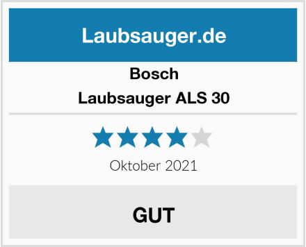 Bosch Laubsauger ALS 30 Test