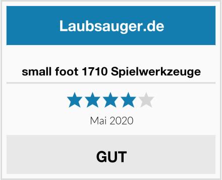 small foot 1710 Spielwerkzeuge Test