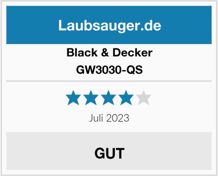 Black & Decker GW3030-QS Test