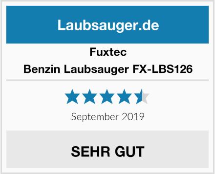 Fuxtec Benzin Laubsauger FX-LBS126 Test
