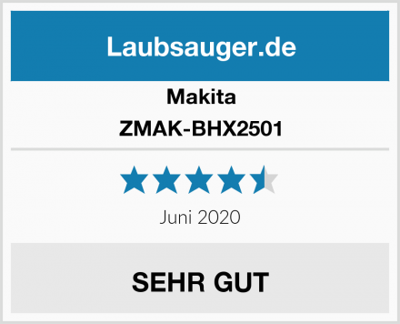 Makita ZMAK-BHX2501 Test