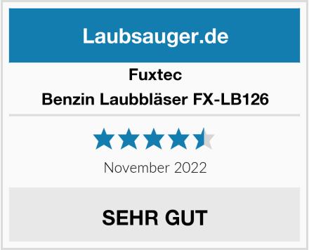 Fuxtec Benzin Laubbläser FX-LB126 Test