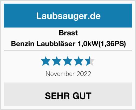 Brast Benzin Laubbläser 1,0kW(1,36PS) Test
