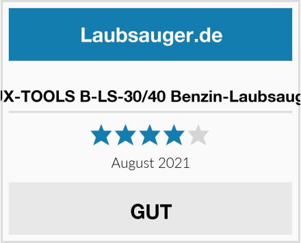 LUX-TOOLS B-LS-30/40 Benzin-Laubsauger Test