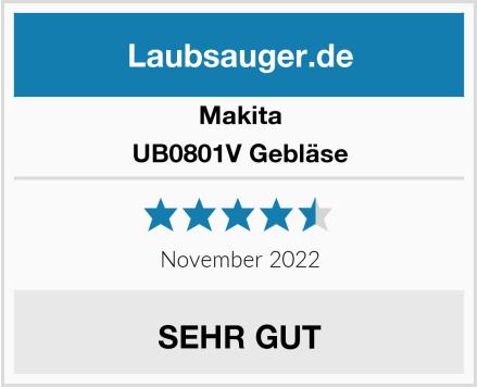 Makita UB0801V Gebläse Test