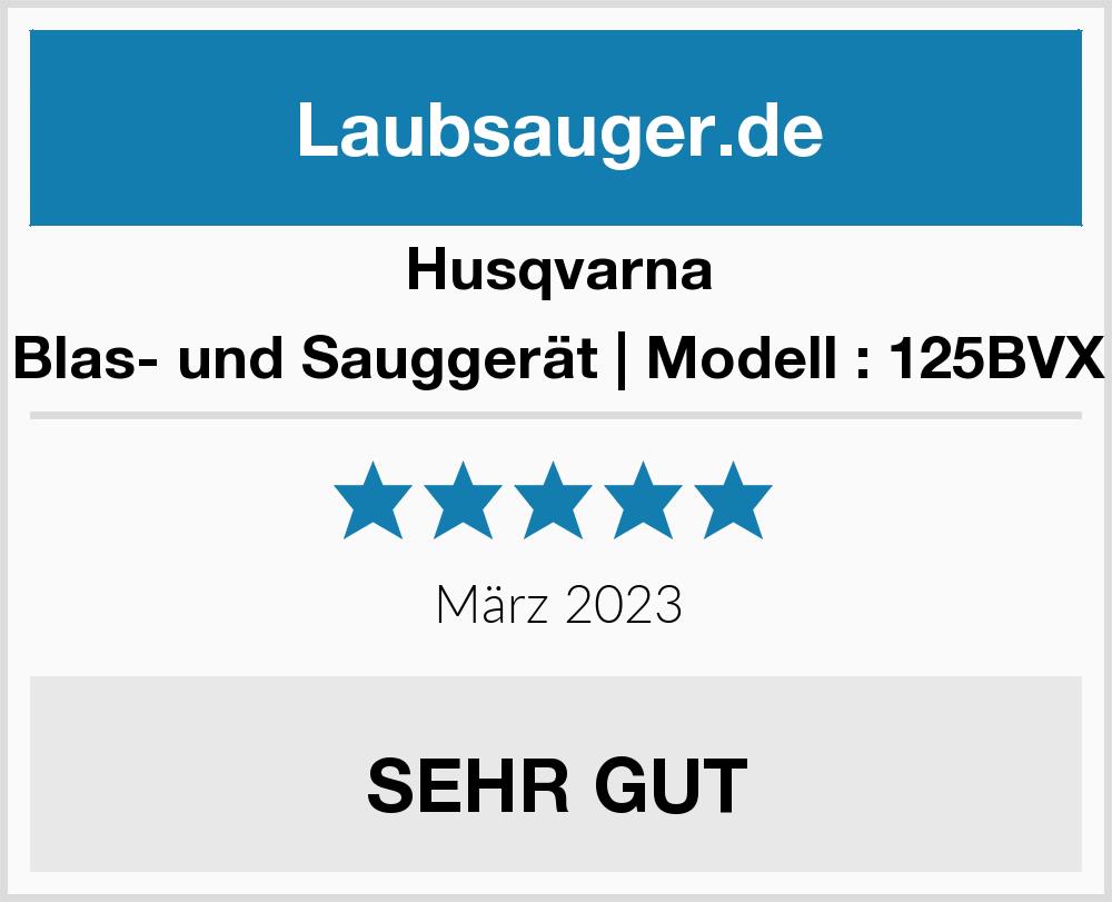 Husqvarna Blas- und Sauggerät | Modell : 125BVX