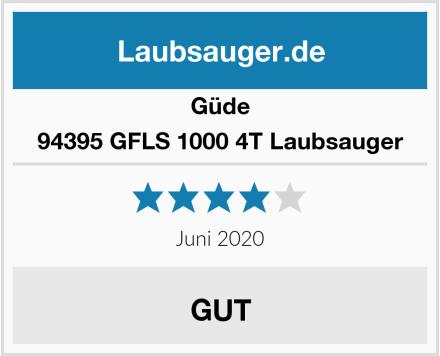 Güde 94395 GFLS 1000 4T Laubsauger Test