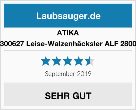 ATIKA 300627 Leise-Walzenhäcksler ALF 2800 Test