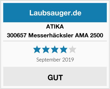 ATIKA 300657 Messerhäcksler AMA 2500 Test