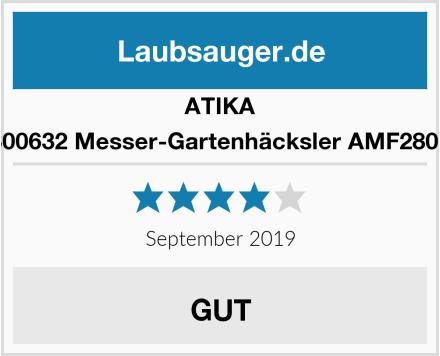 ATIKA 300632 Messer-Gartenhäcksler AMF2800 Test