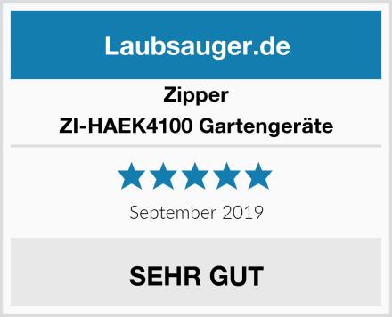 Zipper ZI-HAEK4100 Gartengeräte Test