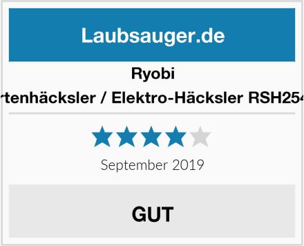 Ryobi Gartenhäcksler / Elektro-Häcksler RSH2545B Test
