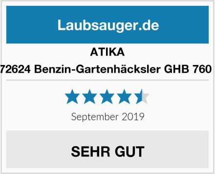 ATIKA 372624 Benzin-Gartenhäcksler GHB 760 A Test
