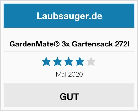 GardenMate® 3x Gartensack 272l Test
