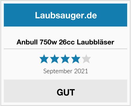 Anbull 750w 26cc Laubbläser Test