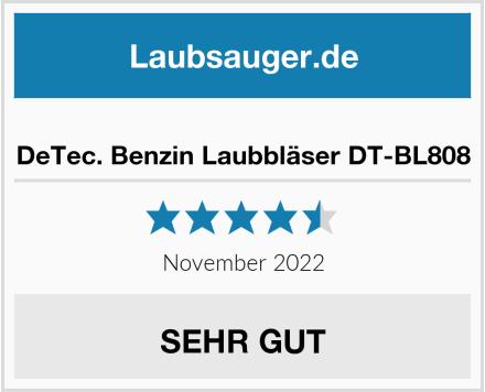 DeTec. Benzin Laubbläser DT-BL808 Test
