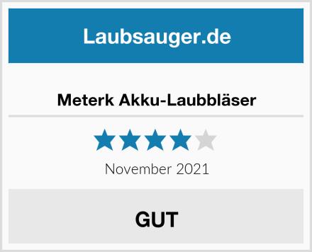 Meterk Akku-Laubbläser Test