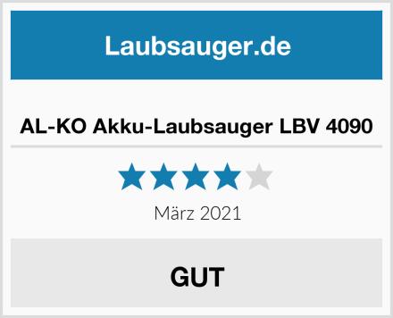 AL-KO Akku-Laubsauger LBV 4090 Test